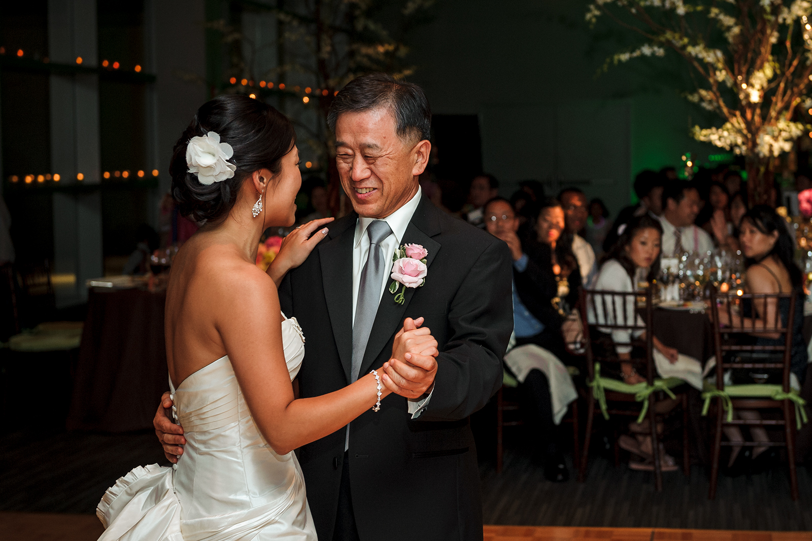 Stage 6 at Steiner Studios Wedding in Brooklyn, NY father daughter dance