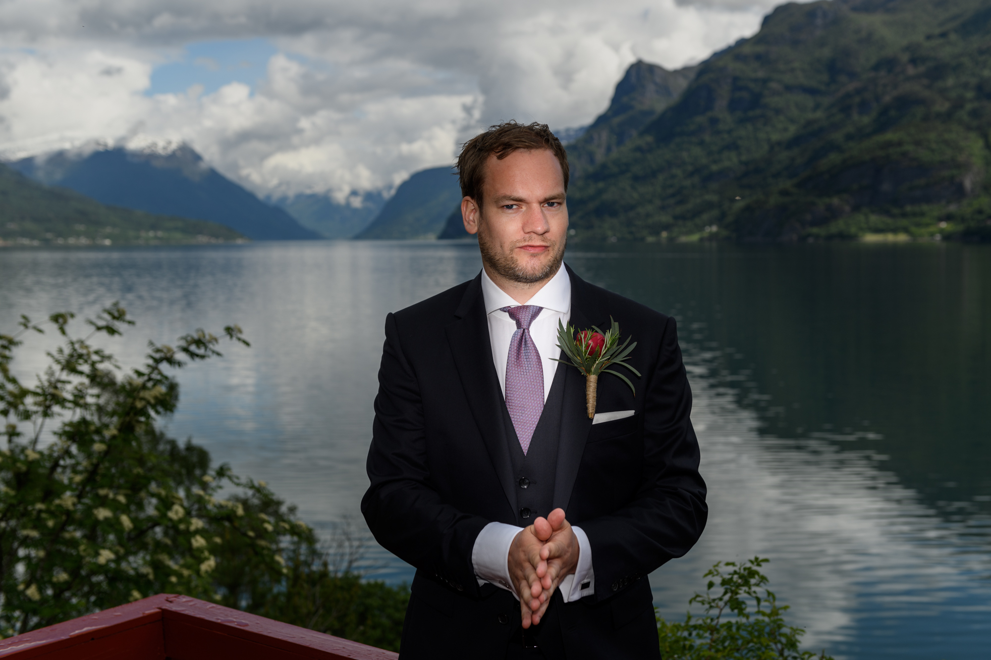 Norwegian fjord Wedding