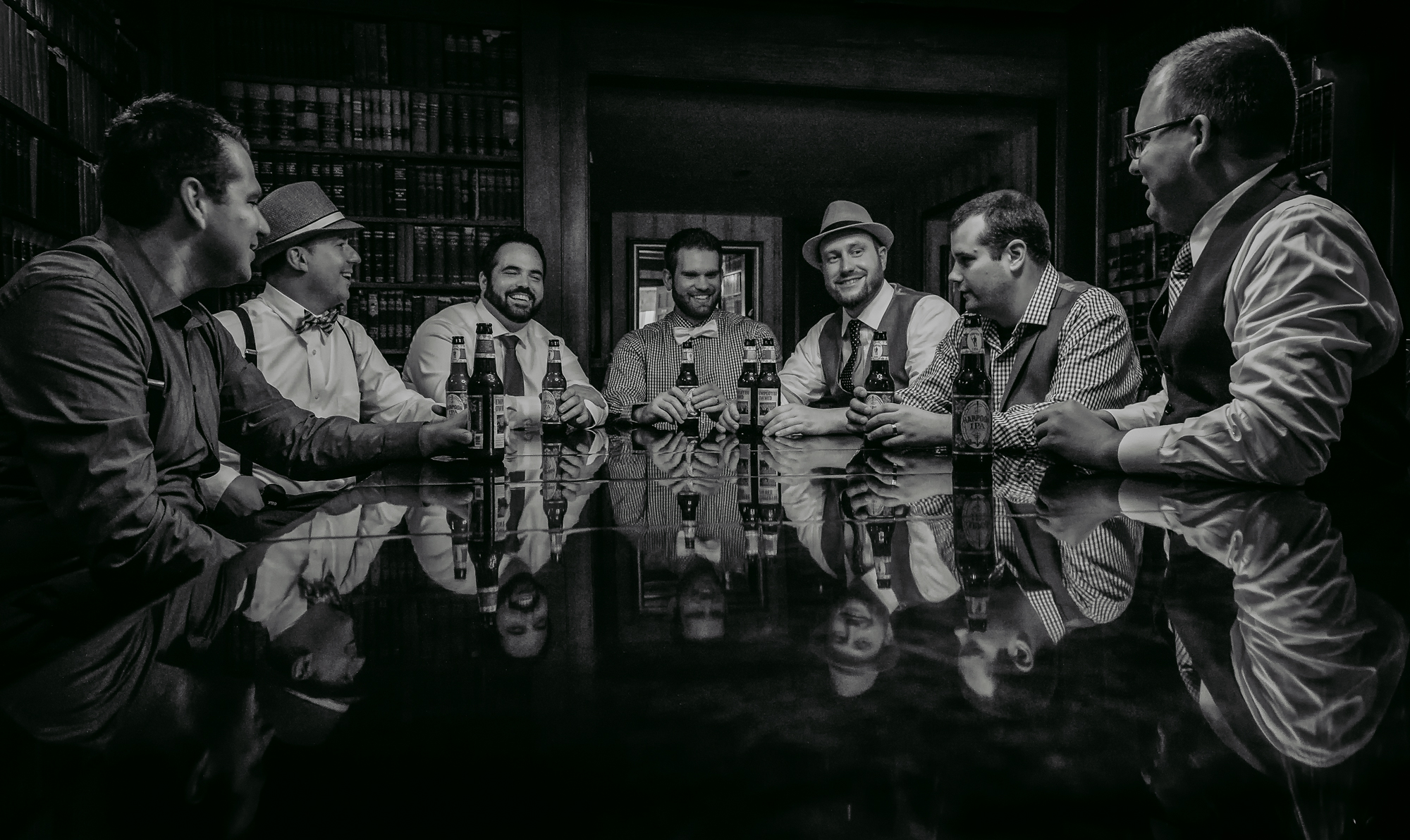 Publick House Historic Inn Wedding groomsmen
