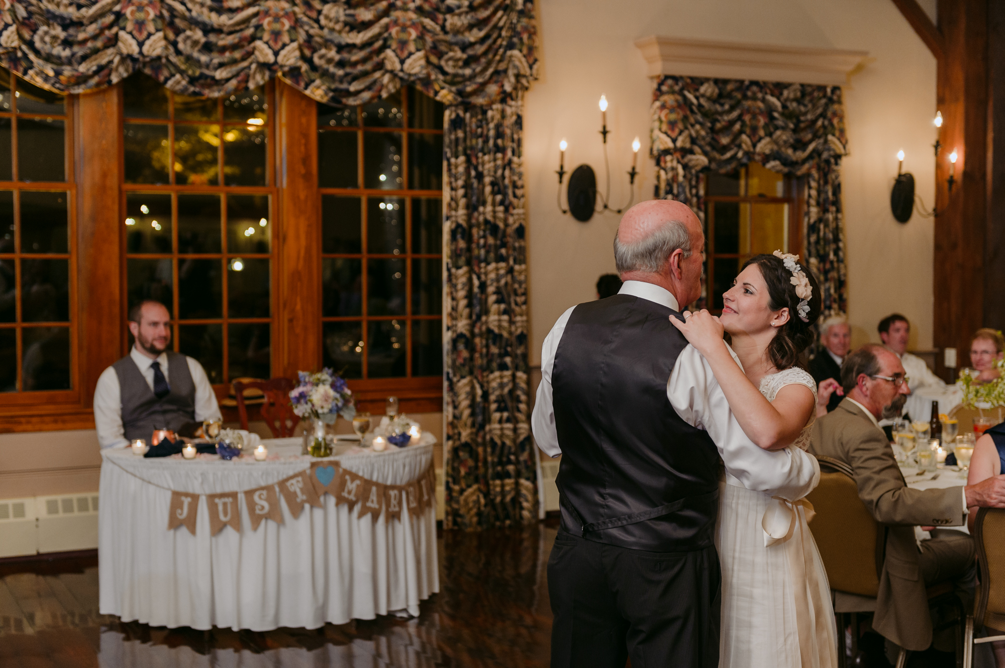 Publick House Historic Inn Wedding Father Daughter Dance