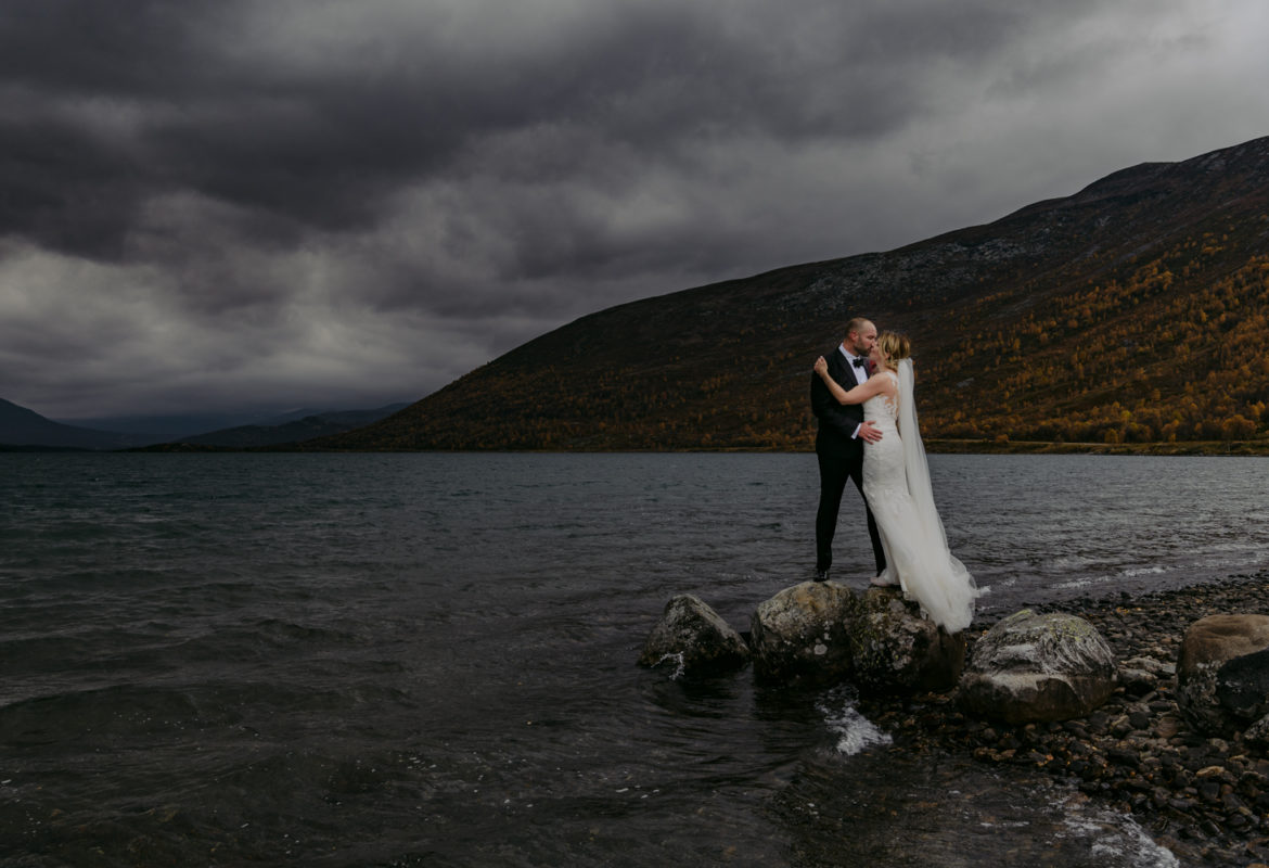 Norwegian Wedding at Lom Stave Church and Bessheim Mountain Lodge Wedding Reception