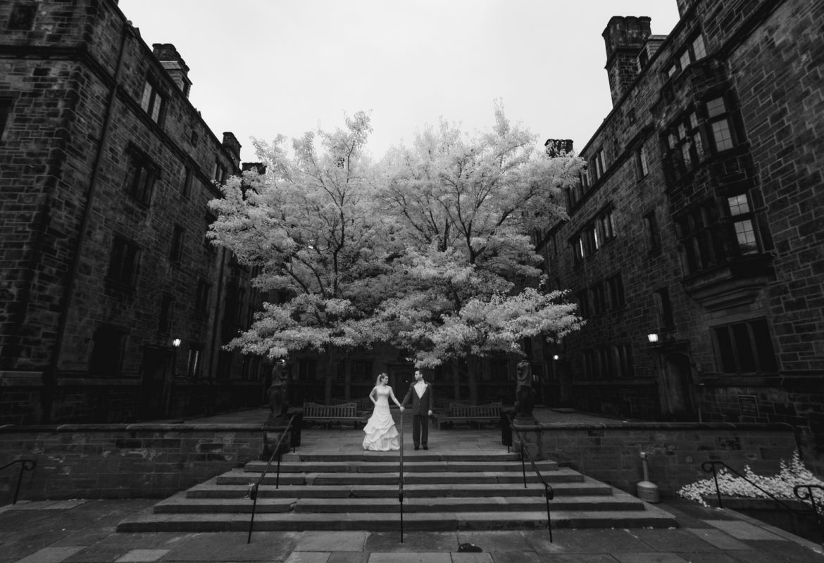 Yale University Wedding and John Davenport's Wedding Reception
