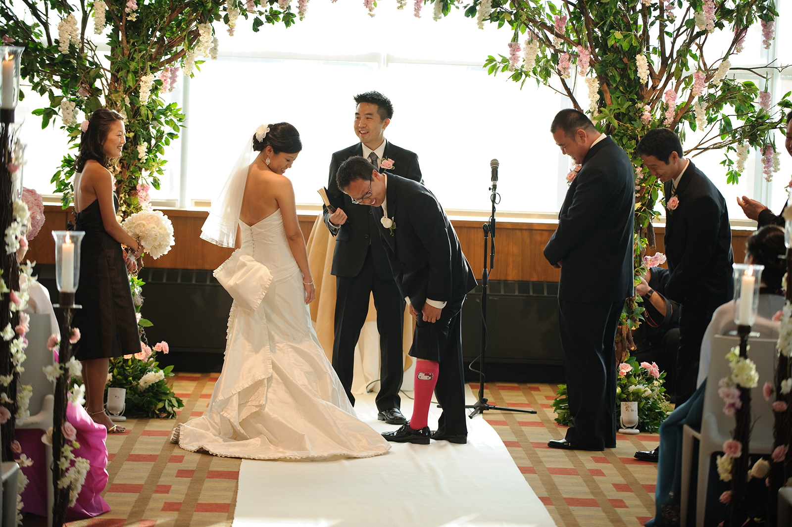 Hello Kitty Socks Wedding