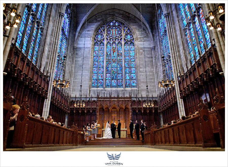 The Chapel at Princeton University Wedding - Rachel & David