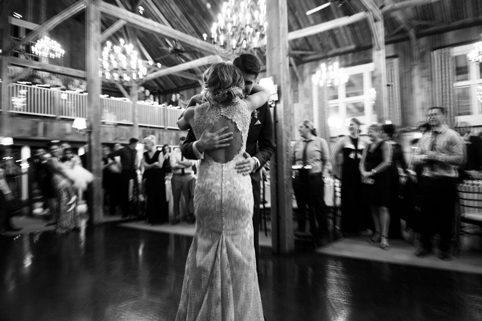 First Dance at The Barn at Gibbet Hill Wedding