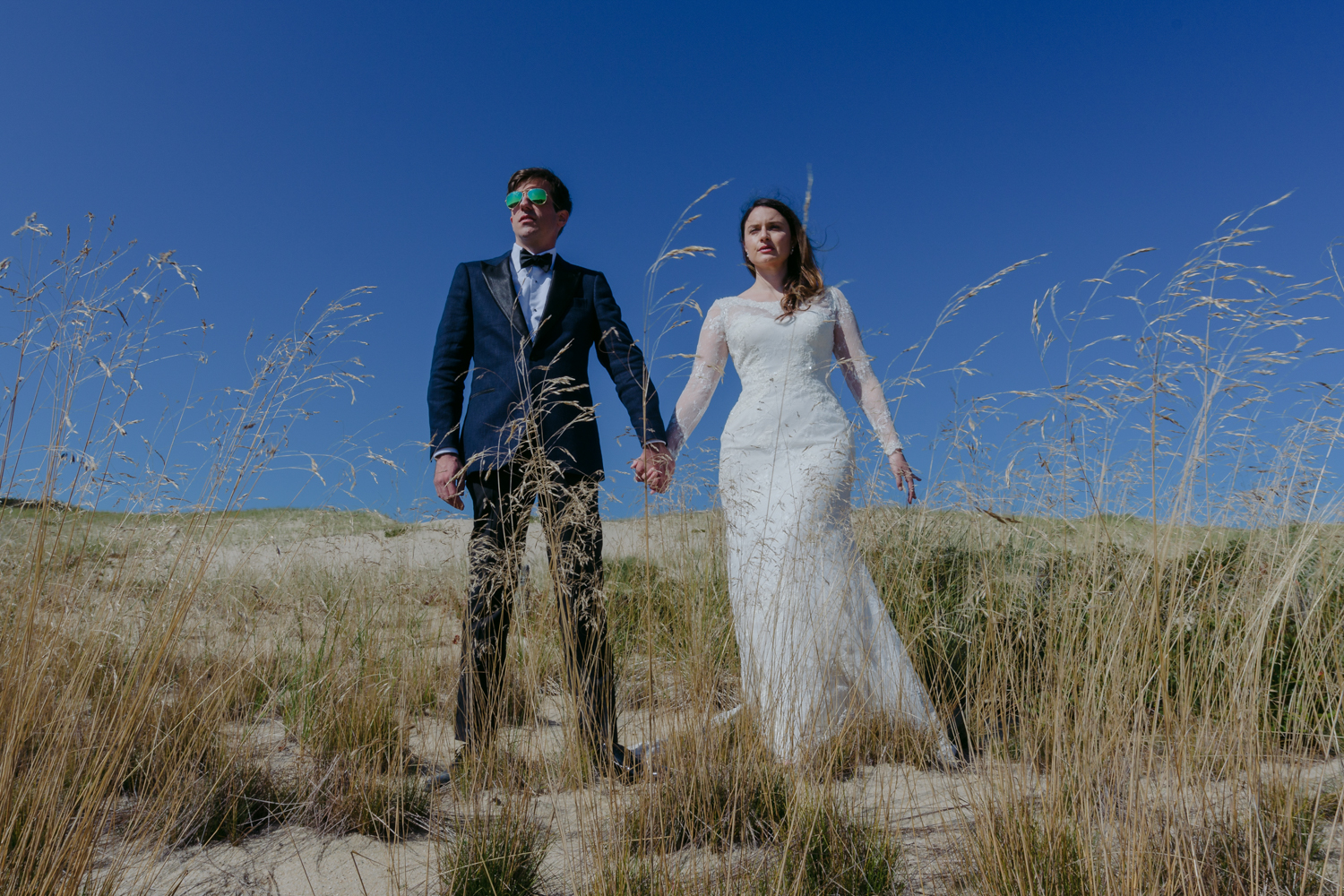 Race Point Beach Wedding Portraits