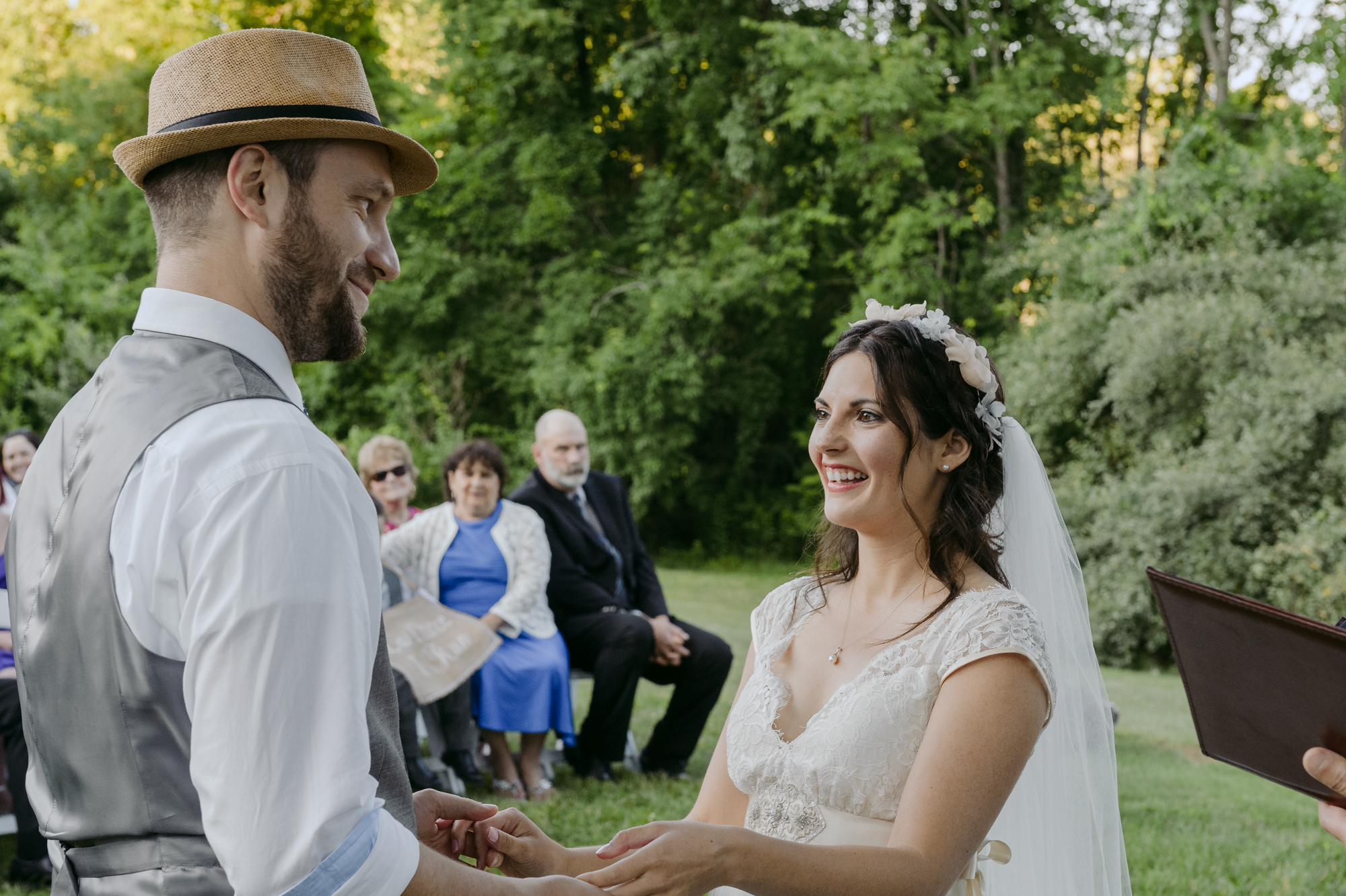 Publick House Historic Inn Wedding ceremony