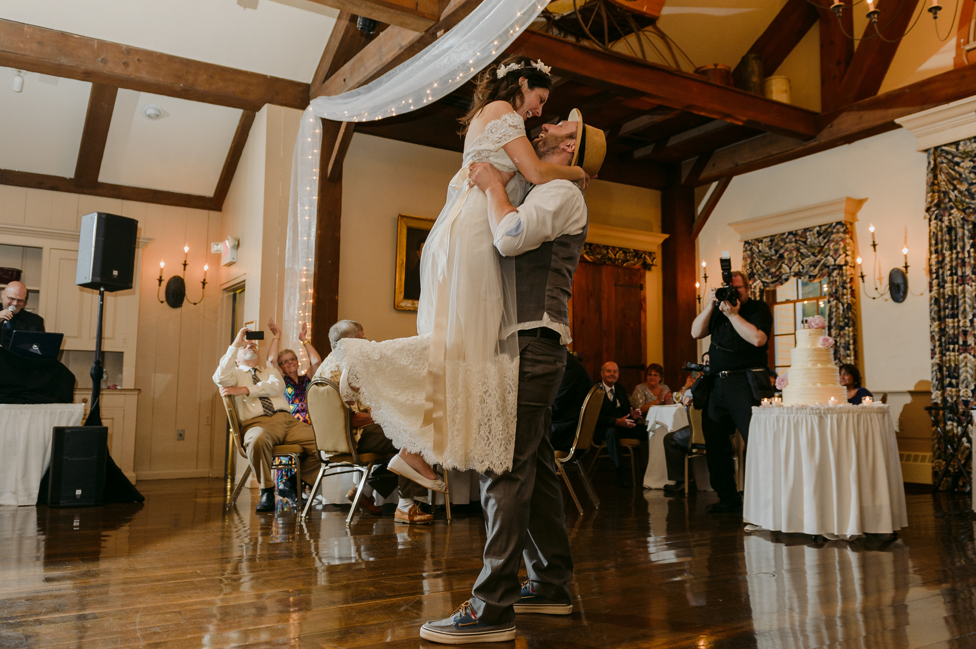 Publick House Historic Inn Wedding Reception