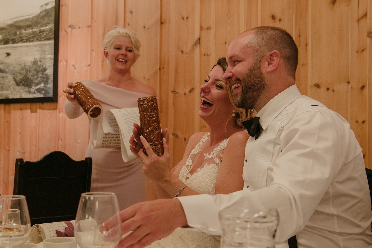 Bessheim Mountain Lodge Wedding maid of honor toast