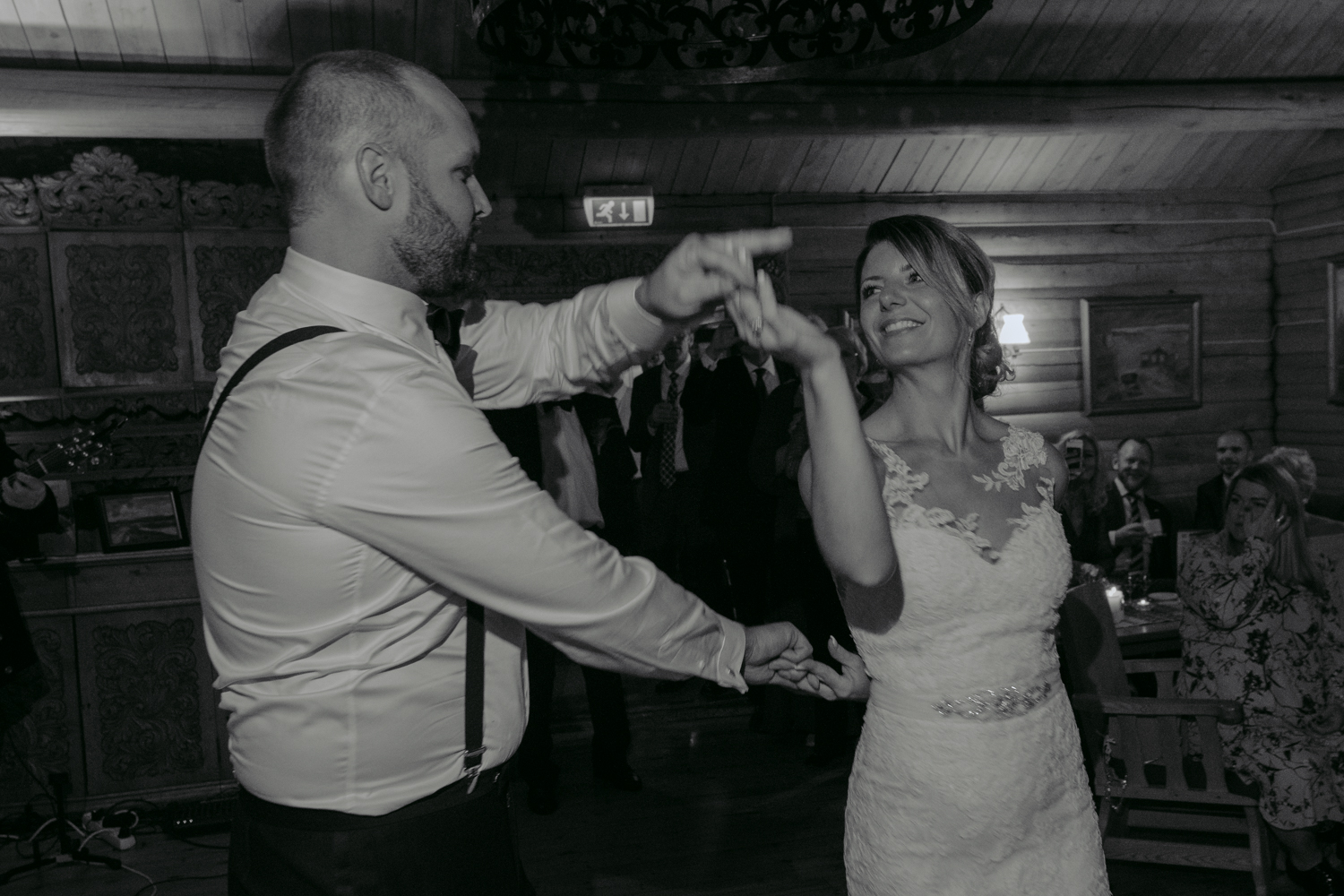 Bessheim Mountain Lodge wedding first dance