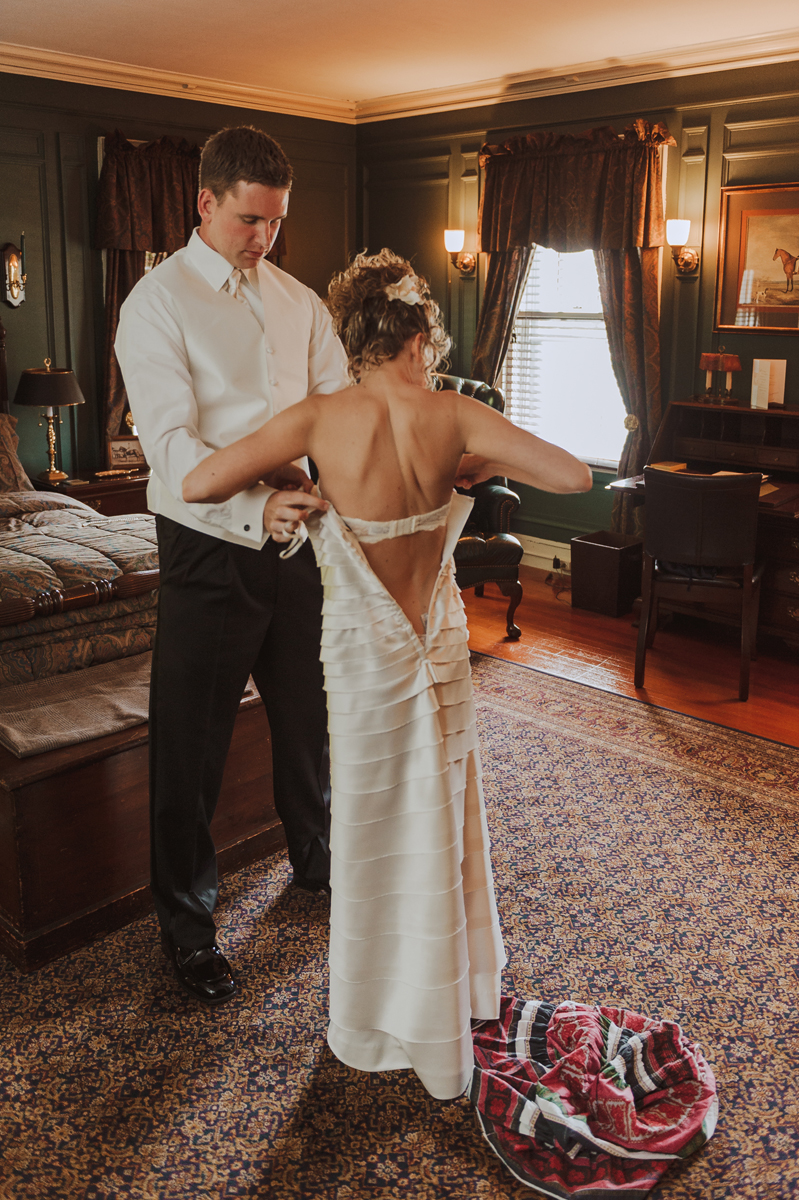 Lord Thompson Manor Wedding Bride Prep