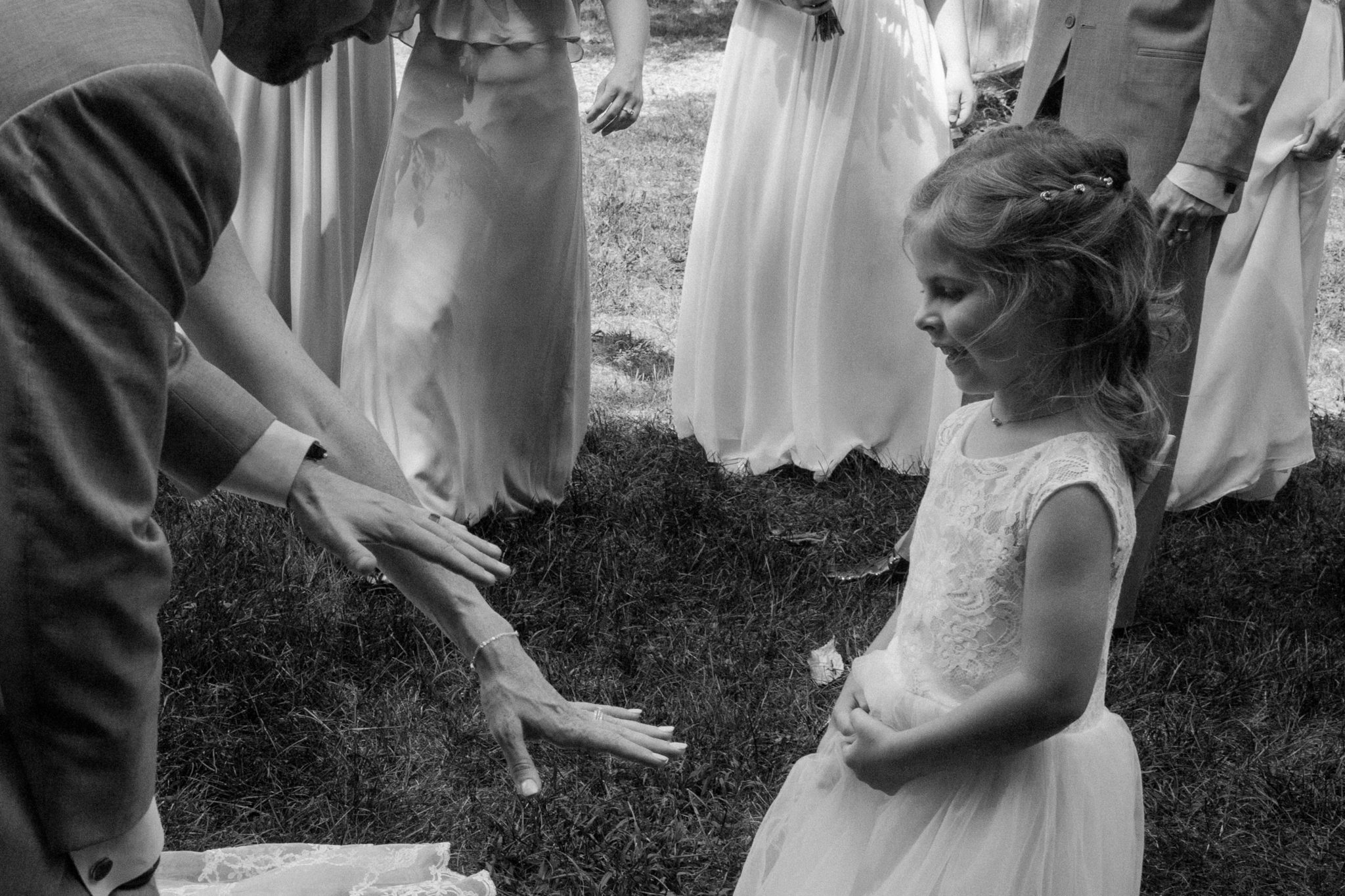 Colby Hill Inn Wedding Flower Girl